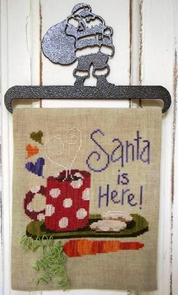 SamSarah Design Studio - Santa is Here! - Cross Stitch Kit