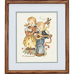 M. I. Hummel - The Strummers - Counted Cross Stitch Kit