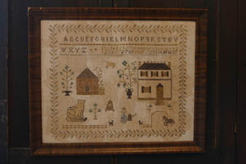 Stacy Nash Primitives - Spring at Hollyberry Farm - Cross Stitch Pattern