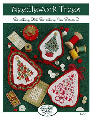 Sue Hillis Designs - Needlework Trees Ornaments - Cross Stitch Patterns