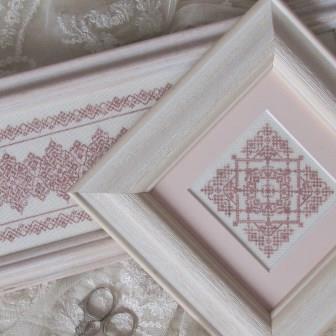 T A Smith Designs - Lacework - Cross Stitch Pattern