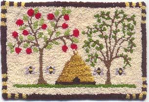 Teresa Layman Designs - Bees and Trees - Miniature Knotwork Kit