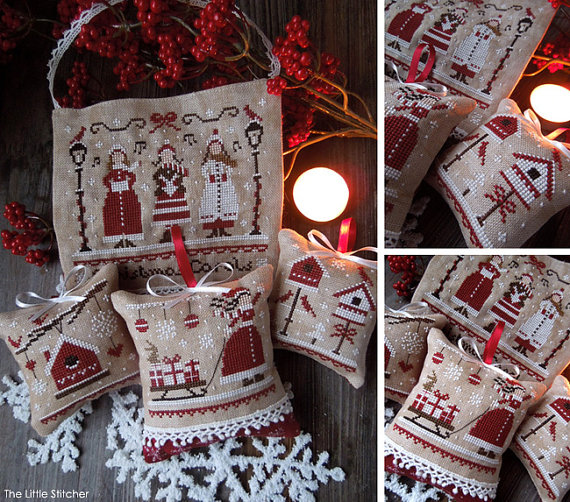 The Little Stitcher - Red Christmas