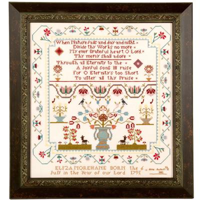 Threads of Memory - Eliza Morehane Sampler - Cross Stitch Pattern
