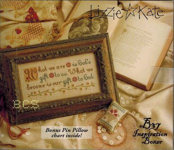 Lizzie Kate - Inspiration Boxer - What We Are - Cross Stitch Pattern