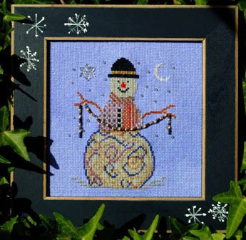 Turquoise Graphics & Designs - Wintry Charm - Cross Stitch Pattern