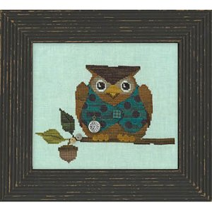 Just Another Button Company - Woodland Whimsy Series #1 - Woodland Owl - Cross Stitch Pattern