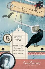SamSarah Design Studio - Something Wicked - Mystery Sampler - Part 1
