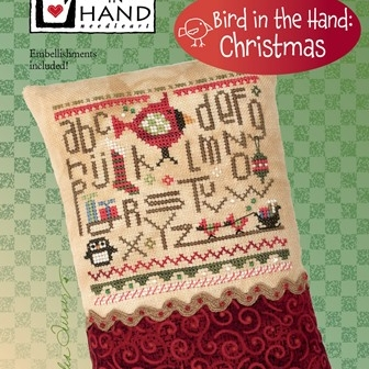 Heart in Hand Needleart - Bird in the Hand Christmas