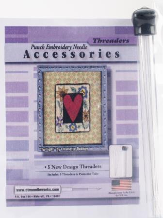 CTR Needleworks - Punch Embroidery Needle Threaders-CTR Needleworks Punch Embroidery Needle Threaders