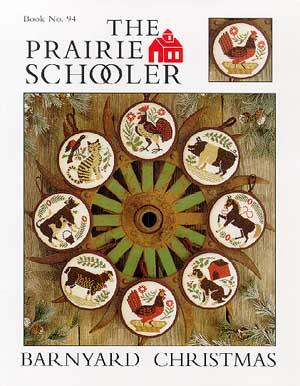 Prairie Schooler - Barnyard Christmas-Prairie Schooler - Barnyard Christmas, farm, Christmas Ornaments