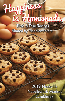 2019 Nashville Needlework Market 'Happiness Is Homemade' Cookbook Limited Edition-2019 Nashville Needlework Market Happiness Is Homemade Cookbook Limited Edition