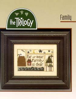 The Trilogy - Family - Cross Stitch Pattern
