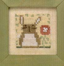 Bent Creek - The Littles - Bunny-Bent Creek - The Littles, Bunny, Easter, Spring, animals, cross stitch