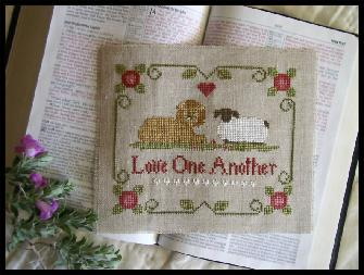 Little House Needleworks - Love One Another (Benefits World Vision)-Little House Needleworks - Love One Another Benefits World Vision