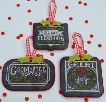 Hands On Design - Chalkboard Ornaments - Christmas Collection Part 2