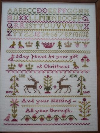 JBW Designs - Peace at Christmastide-JBW Designs - Peace at Christmastide, Christmas, samplers