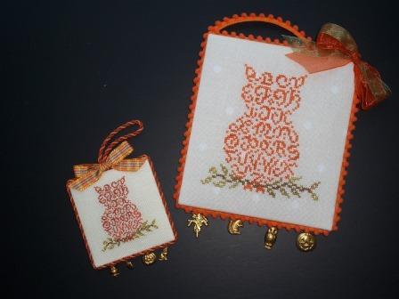 JBW Designs - Alphabet Owl-JBW Designs - Alphabet Owl, Halloween, Fall