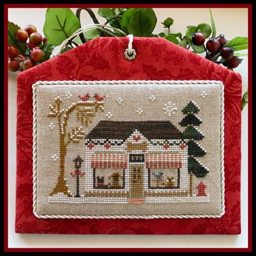 Little House Needleworks - Hometown Holiday - The Pet Store-Little House Needleworks - Hometown Holiday, The Pet Store, dogs, cats,