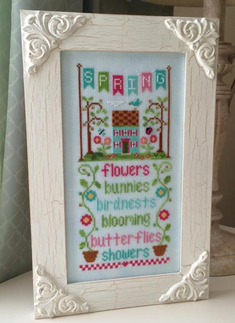 Country Cottage Needleworks - Seasonal Celebrations - Part 1 - Spring-Country Cottage Needleworks, Seasonal Celebrations, Spring, flowers, Cross Stitch Pattern