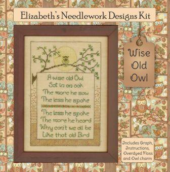 Elizabeth's Designs - Wise Old Owl
