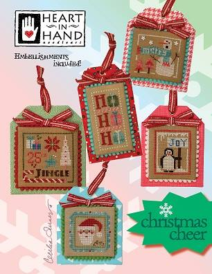 Heart in Hand Needleart - Christmas Cheer-Heart in Hand Needleart - Christmas Cheer, ornaments, Christmas,