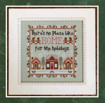 Country Cottage Needleworks - Home for the Holidays-Country Cottage Needleworks - Home for the Holidays, Christmas, cross stitch, gingerbread,