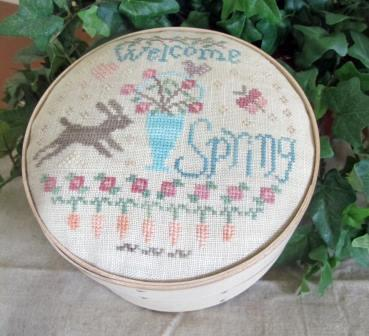 From The Heart - Needleart by Wendy - Welcome Spring Box-From The Heart - Needleart by Wendy - Welcome Spring Box, Easter,