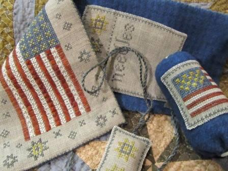 Chessie & Me - Flag of Glory Needle Book