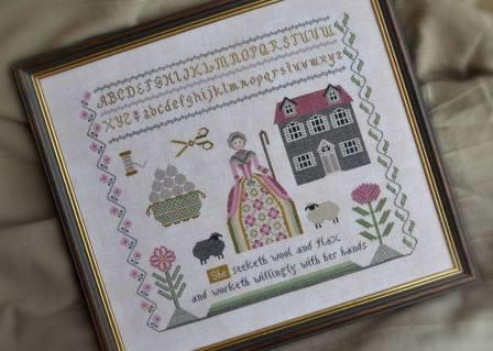Cottage Garden Samplings - Needleworker's Sampler