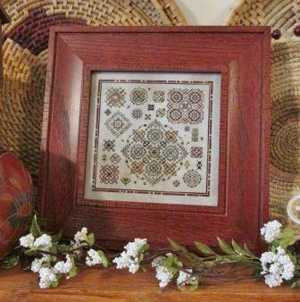 T.A. Smith Designs - Colors of the West-T.A. Smith Designs - Colors of the West, southwest, cross stitch, geometric, quaker,