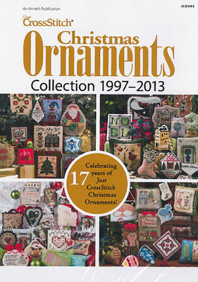 Just CrossStitch Christmas Ornament DVD (1997-2013)-Just CrossStitch Christmas Ornament DVD 1997-2013, Christmas, crafts, cross stitch, Christmas tree,
