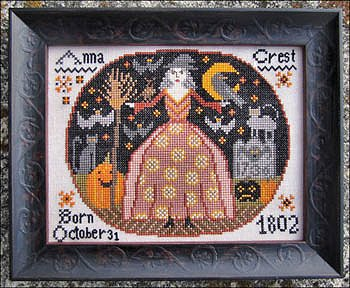 Kathy Barrick - A Hallowe'en Birthday-Kathy Barrick - A Halloween Birthday, Halloween, fall, witch, pumpkin, sampler, cross stitch