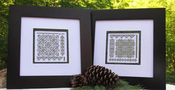 T.A. Smith Designs - Thinking Green!!-T.A. Smith Designs - Thinking Green-cross stitch,