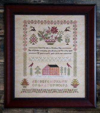 Cottage Garden Samplings - Peace on Earth Sampler-Cottage Garden Samplings - Peace on Earth Sampler, Christmas, sampler,
