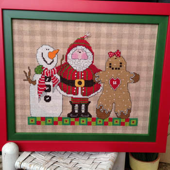 Amy Bruecken Designs - Three Wise Men-Amy Bruecken Designs - Three Wise Men, Christmas, snowman, Santa Claus, gingerbread man, cross stitch