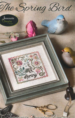 Jeannette Douglas Designs - The Spring Bird-Jeannette Douglas Designs, The Spring Bird, 2015 Nashville Release, Cross Stitch Pattern