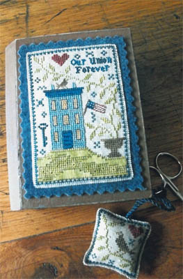 Chessie & Me - Patriotic Stitch Book-Chessie  Me - Patriotic Stitch Book
