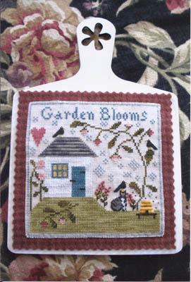Chessie & Me - Garden Blooms