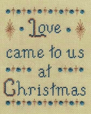 Freda's Fancy Stitching - The Gift of Love-Fredas Fancy Stitching - The Gift of Love, Jesus, Gods love, Christmas, father, God