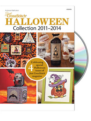 Just Cross Stitch - Halloween DVD Collection - 2011 - 2014-Just Cross Stitch - Halloween Collection - 2011 - 2014, halloween magazines,