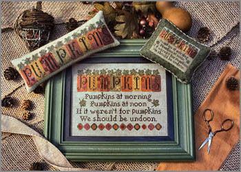 Erica Michaels Needleart Designs - Pumpkin Row