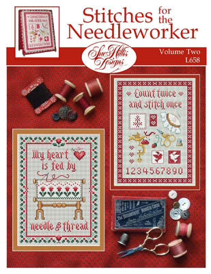 Sue Hillis Designs - Stitches for the Needleworker - Volume 2-Sue Hillis Designs - Stitches for the Needleworker - Volume 2,