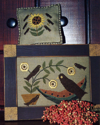 Homespun Elegance - Plain and Fancy Collection - Summer Treats  Cross Stitch Pattern