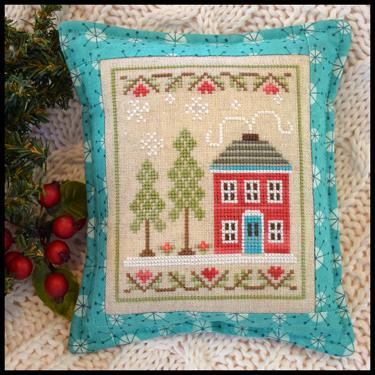 Country Cottage Needleworks - Snow Place Like Home - Snow Place 2-Country Cottage Needleworks - Snow Place Like Home - Snow Place 2, home, winter,