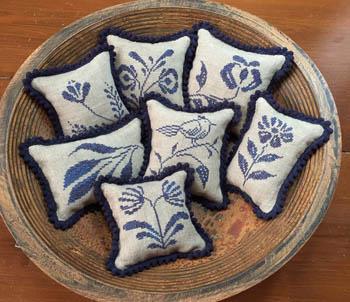 Priscilla's Pocket - Stoneware Pinpillows III