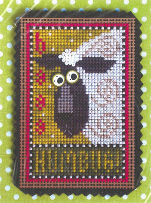 Val's Stuff - Baaa Humbug Kit-Vals Stuff - Baaa Humbug Kit, sheep, lamb, Christmas, kit, ornament