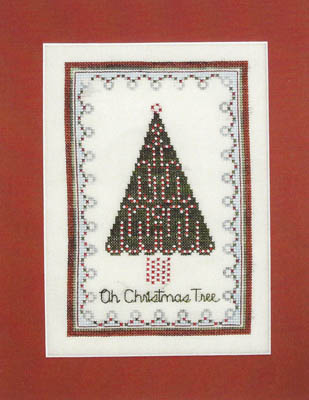 AnnaLee Waite Designs - Christmas Tree-AnnaLee Waite Designs - Christmas Tree, Christmas, ornaments, peppermint, candy canes, cross stitch