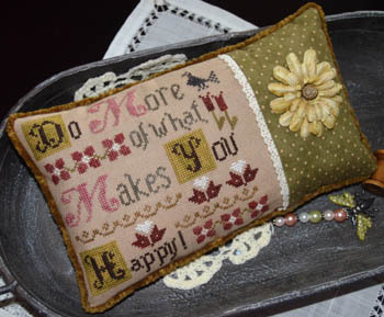 Abby Rose Designs - Do More of What Makes You Happy!-Abby Rose Designs -  Do More of What Makes You Happy, peace, contentment, hobbies, free time, cross stitch