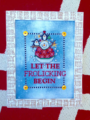 Amy Bruecken Designs - Let the Froliking Begin-Amy Bruecken Designs - Let the Froliking Begin, snowman, Christmas, winter, playing, snow, snowballs, penguins,